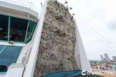 Rock climbing wall on Empress of the Seas: Cruise Miami, Cozumel Cruise, Jamaica Cruise, Cozumel Mexico, Cruise Port, Climbing Wall, Rock Climbing, Empress Of The Seas, Southern Caribbean Cruise