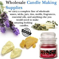 candle making supplies #candlemakingtips