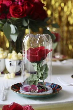 Beauty-and-the-Beast-Birthday-Party-Rose.jpg (650×975)