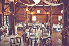 Rustic farm wedding...