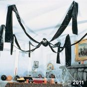Giant spider for the ceiling. Probably easy to make.