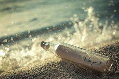 Love message in a bottle <3