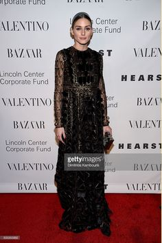 Olivia Palermo attends an evening honoring Valentino at Lincoln Center Corporate Fund Black Tie Gala on December 7, 2015 in New York City.