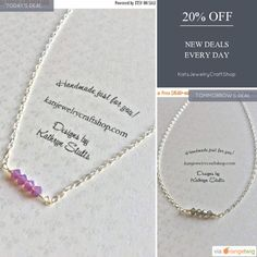 Today Only! 20% OFF this item.  Follow us on Pinterest to be the first to see our exciting Daily Deals. Today's Product: Swarovski Crystal Bar Necklace -Sterling Silver Necklace - Crystal Necklace Buy now: https://www.etsy.com/listing/517796189?utm_source=Pinterest&utm_medium=Orangetwig_Marketing&utm_campaign=Daily%20Deal #etsy #etsyseller #etsyshop #etsylove #etsyfinds #etsygifts #musthave #loveit #instacool #shop #shopping #onlineshopping #instashop #instagood #instafollow #photooftheday…