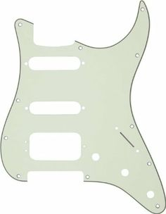 Fender Fat Strat Pickguard by Fender. $23.12. 4-ply, 11-hole mint pickguard for HSS (humbucker/single-coil/single-coil) pickup configurations (Lone Star/Fat Strat).. Save 34% Off!