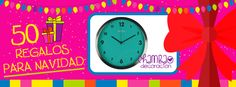 ¿Tu amiga siempre llega tarde? Pues es hora de que se enteren los Reyes Magos para que ya no tenga excusa para llegar tarde nunca más. Tenemos disponible este precioso #reloj de #pared  en todos los colores.