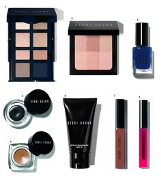 Maquiagem Bobbi Brown Navy and Nude Collection!