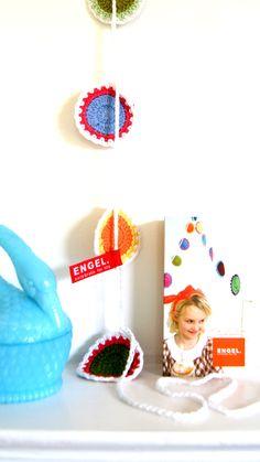 #crochet #garland for Engel