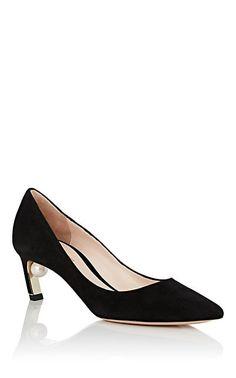 756985331c26e9 Nicholas Kirkwood Mira Imitation-Pearl Suede Pumps - Heels - 505709523 Born  Shoes