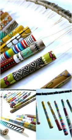 40 Relaxing Wind Chime Ideas To Fill Your Outdoors With Beautiful Sounds DIY Bambus Windspiel Bamboo Wind Chimes, Wind Chimes Craft, Hobbies To Pick Up, Fun Hobbies, Au Hasard Balthazar, Finding A Hobby, Bamboo Crafts, Diy Coffee Table, Easy Diy