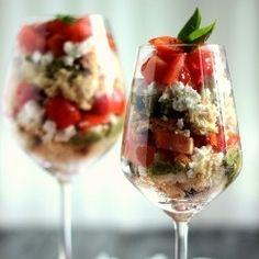 {recipe} Savoury Tomato Trifle