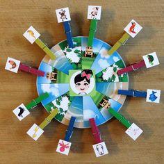 """""""Pia Polya Bu Hayvan Nerede Yaşar Mandallama Oyunu""""   Oyun, Pia Polya'nın tüm çocuklara hediyesi olup, fikir mülkiyeti Hotalı Ambalaj Tasarımına aittir."""