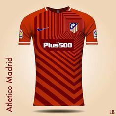 #football #footballshirt #concept #jersey #nike #atleticomadrid #lb_footy #footballdesign