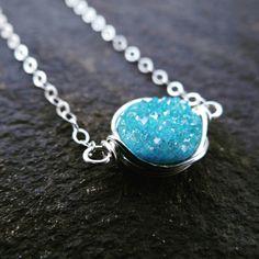 #theloveleighlocket  #druzynecklace  #trendynecklace Www.etsy.com/shop/theloveleighlocket