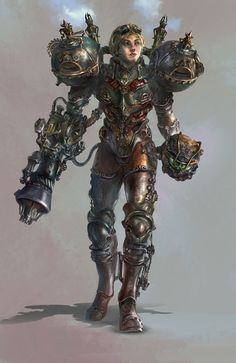 Steampunk Samus - by Jason Cheng