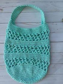 Ravelry: Magnolia Market Bag pattern by Michelle Ferguson Free Crochet Bag, Crochet Market Bag, Crochet Tote, Crochet Purses, Bead Crochet, Crochet Crafts, Crochet Stitches, Crochet Projects, Crochet Patterns