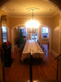 Antoines New Orleans French Quarter, Private Dining Room Upstairs.  Beautiful Venue For A Wedding