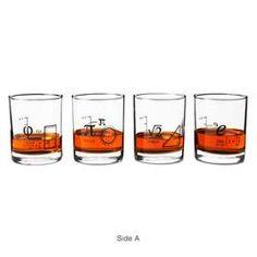 Math Glasses - Set of 4  $38.00