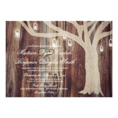 Shop Rustic Oak Tree Lights Wood Wedding Invitations created by RusticCountryWedding. Wood Wedding Invitations, Custom Invitations, Country Wedding Cakes, Wedding Rustic, Diy Wedding, Oak Tree Wedding, Christmas Tree Tops, Wedding Cake Fresh Flowers, Tree Lighting