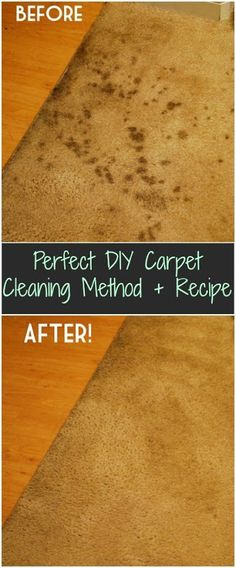 Homemade carpet stain remover recipe simple no scrub pinterest perfect diy carpet cleaning method recipe 1 part vinegar 2 parts water mix together in spray bottle spray stain and cover with damp rag solutioingenieria Gallery