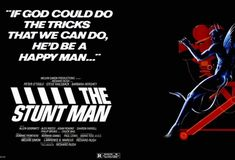The Stunt Man takes making a movie set in World War One and intertwines it with a wanted man on the run who joins the movie making circus with Peter O'Toole as the devil/saint director; mixes in a bit of magic and produces a movie classic unlike any you have seen. O'Toole earned another Oscar nomination as did Richard Rush as director and co-writer. Barbara Hershey is the winning insecure female lead in the movie and real life. It's Peter O'Tooles show and its a smash. Barbara Hershey, Peter O'toole, Making A Movie, World War One, Insecure, Stunts, Good Movies, I Movie, Devil