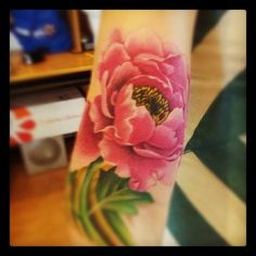 """The Peony is considered the best of flowers  known as the King of flowers. In short it means elegance and wealth. Also called """"the rose without thorns"""". The peony,  it is regarded as a symbol of wealth, good fortune and prosperity.  In addition though,  it also suggests a sort of gambling, daring and even a masculine devil-may-care attitude, quite unlike its character in the west."""