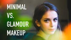 Two in One: Minimal vs. Glamour Makeup Tutorial | sunbeamsjess