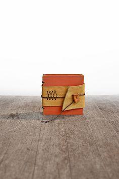 Boheme A Mini Handstitched Journal by odelae on Etsy