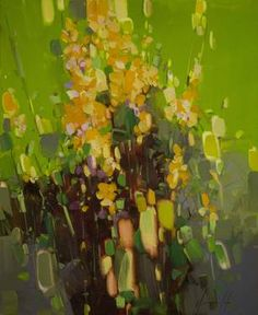 Bouquet of Flowers Abstract oil painting Handmade artwork Contemporary One of a Kind