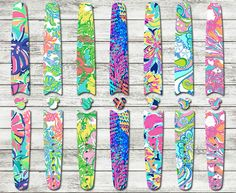 Lilly Pulitzer Disney Magic Band Skins and Decals   Custom Disney Band Stickers - RTS Ready To Ship   Design Your Own Magic Band Sticker
