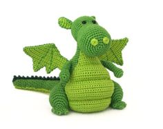 Yoki the dragon amigurumi crochet pattern