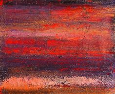 """Where ART Lives Gallery Artists Group Blog: Mixed Media Abstract Art Red Painting """"August Heat"""" by California Artist Cecelia Catherine Rappaport"""