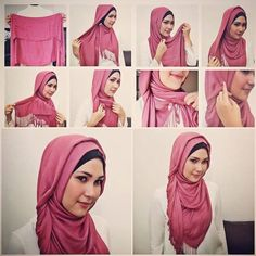 simple, easy, but gorgeous hijab pictorial