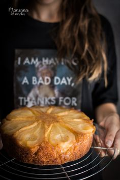 Pear Cake, Cake Photography, Dessert Recipes, Desserts, Flan, Beautiful Cakes, Sweet Recipes, Caramel, Pineapple