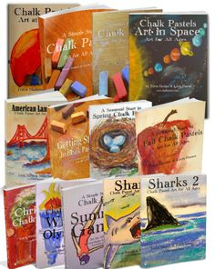 Giveaway Sponsor Thank you to You Are An Artist at chalkpastels.com for their generous donation of TWO complete sets of their beautiful Art Curriculum FULL BUNDLE. This is the full set of chalk pastel e-Books, including the e-Books below and their newest title Chalk Pastels: Art in Space. The complete set of Chalk Pastel tutorial …