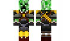 Sky Army Creeper Minecraft Skin