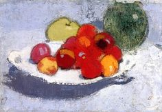 Still Life with Fruit Helene Schjerfbeck - circa 1915