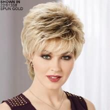 Daisy WhisperLite Wig by Paula Young is a short shag cut. Latest Short Hairstyles, Ethnic Hairstyles, Trending Hairstyles, Pixie Hairstyles, Easy Hairstyles, Straight Hairstyles, Pixie Haircuts, Black Hairstyles, Haircut Styles For Women
