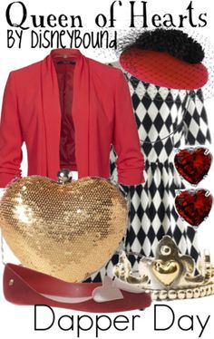 Ideas for the #TrendyLime 4th Anniversary. !ueen of Hearts Outfit #ThemeEvents