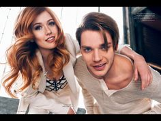 Most popular tags for this image include: shadowhunters, katherine mcnamara, dominic sherwood, clace and jace Dominic Sherwood, Katherine Mcnamara, Clary Et Jace, Clary Fray, Shadowhunters Tv Show, Shadowhunters The Mortal Instruments, Jace Wayland, Isabelle Lightwood, Matthew Daddario