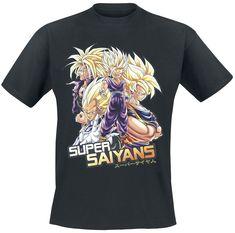 Z - Super Saiyans T-shirt - Nu bestellen bij Large