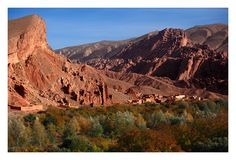 Dadès Gorges   Light in Dades Gorge by hispic