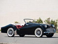 1955 Triumph TR3 Roadster.