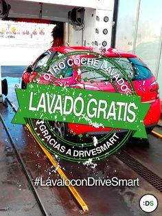 ¡Y otro buen conductor que consigue sus dos lavados de coche de regalo con DriveSmart! #LávaloconDriveSmart