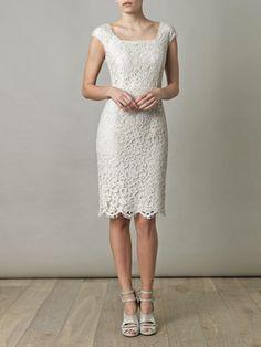 DOLCE & GABBANA - s/s 2013 - Square-neck lace dress.