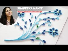 DIY Quilling for Beginners | How to make Quilling Floral Tags | Easy Quilling Tutorials - YouTube
