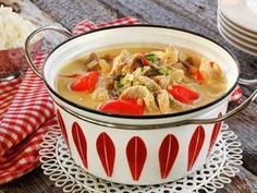 Norwegian Food, Cloud Bread, Pork Recipes, Food For Thought, Thai Red Curry, Nom Nom, Good Food, Turkey, Homemade