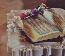 Inspiring image allah, book, flower, islam, peace, quran, roses, quraan, اسﻻم, القرأن الكريم, الله‎, كتّاب, ﻗﺮﺃﻥ #3508914 by winterkiss - Resolution 640x629px - Find the image to your taste Image Allah, Favim, Alhamdulillah, Quran, Holi, Islam, Flowers, Home Decor, Pictures
