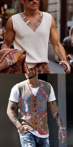 Trendy Fashion, Autumn Fashion, Men's Fashion, Fashion Outfits, Cool Outfits For Men, Stylish Outfits, African Dresses Men, Fall Vest, Man Photography