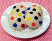 Items similar to Candy Cookies - Felt Food for Montessori and Waldorf Inspired Play on Etsy Felt Cupcakes, Candy Cookies, Felt Food, Baked Goods, Bakery, Etsy Seller, Quiet Books, Grandkids, Creative